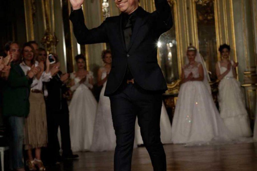 João Rôlo apresenta primeira coleção de noivas rodeado de amigos